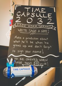 Sage's Time Capsule