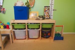 sensory play area